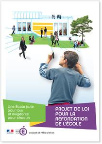 Le projet de loi pour la refondation de l'École adopté dans Education/Formation plecole