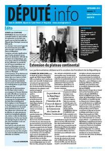 Député info n°11 - Septembre 2013 dans Député info depute.info_sept-212x300