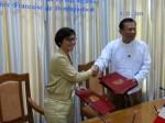 Déplacement en Birmanie