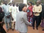 Avec les jeunes entrepreneurs Maliens accompagnés par la France