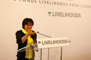 Discours pour le fonds Livelihoods 2
