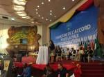 Discours pour l'accord de paix