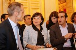 Avec Jean-Pascal Tricoire et Pouria Amirshahi