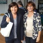 Avec la député Annick Le Loch