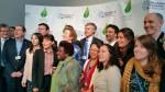 Les ministres présents et les membres de la fondation Mary Robinson