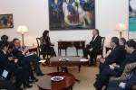 Avec le Premier ministre arménien
