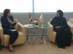 Entretien la Ministre Loubna BINT KHALED AL QASIMI
