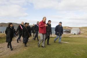 1er Ministre Manuel Valls, 15 octobre 2016, visite à l'île aux marins_Chantal Briand _ Studio Briand_98B2678 copie